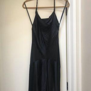 DVF Silk Halter Dress